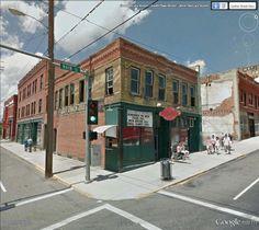 """Silver Dollar Saloon, Butte, Montana / 46° 0'41.06""""N 112°32'8.27""""W (Google Earth Street View)"""