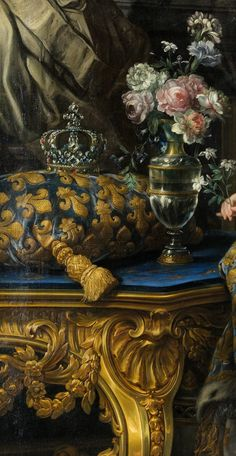 Maria Leszczynska, Queen of France by Charles- Andre van Loo