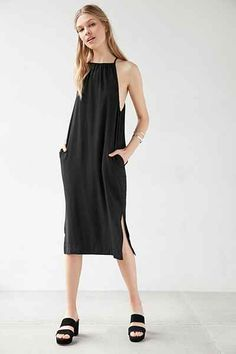 Silence + Noise Phoenix Square-Neck Modern Dress - Urban Outfitters