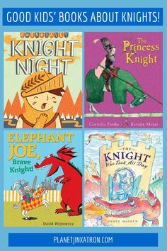 5 Kids' Books About Knights That Adults Can Love Too - Planet Jinxatron