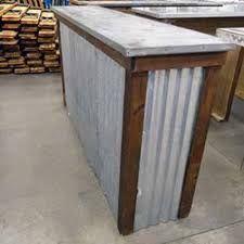 Résultats de recherche d'images pour «corrugated metal for kitchen island»