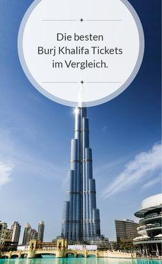 Alle Tickets für den Burj Khalifa in Dubai im Vergleich: http://dubai-exklusiv-hotels.de/burj-khalifa-tickets/ #Burj Khalifa #Dubai #Luxusurlaub #Architektur #Weltrekord #Urlaub