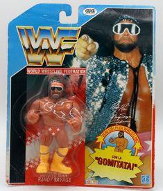 Hasbro Macho Man Wrestling Figure WWF on Mercari Wwf Toys, Wwf Hasbro, Wrestling Superstars, Card Card, Professional Wrestling, Childhood Toys, Classic Toys, Vintage Toys, Wrestling