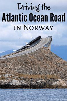 Driving the Atlantic Ocean Road in Norway – Best Travel Destinations Tromso, Norway Vacation, Norway Travel, Norway Camping, Norway Roadtrip, Trondheim, Stavanger, Lofoten, Jotunheimen National Park