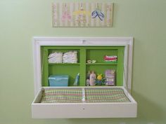 How To Build A Fold-away Changing Table