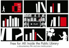 Dawn Logsdon & Lucie Faulknor is raising funds for Free For All: Inside the Public Library on Kickstarter! Help us make our film about America's amazing public libraries and the urgent need to keep them open, innovating, and free for all. Library Bookshelves, Library Inspiration, High Stakes, Best Careers, Library Card, Documentary Film, New Media, Helping People, Close Up