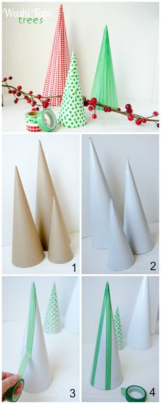 Christmas crafts are always a good idea. These DIY tree will brighten up you decorations. Now we just need some gifts to put under them