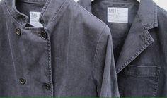 MARGARET HOWELL MHL Navy Indigo Twill work jacket. Lovely classic MARGARET HOWELL. to wear forever!   eBay!