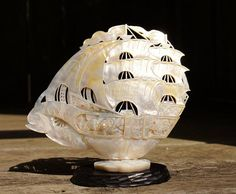 Hey, I found this really awesome Etsy listing at https://www.etsy.com/listing/529012452/mother-of-pearl-chinese-carved-ship