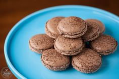 This is the best recipe you'll ever find to make the most beautiful, delicious, and perfect Chocolate French Macarons that everyone will love.