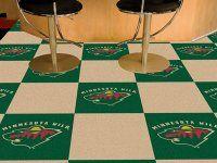 Minnesota Wild Team Carpet Tiles. $179.99 Only.