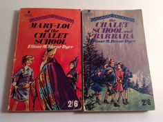 2 Vintage Chalet School Books by Elinor Brent-Dyer. by FadoVintage Irish Language, Heaven, Comics, Children, School, Books, Etsy, Vintage, Young Children