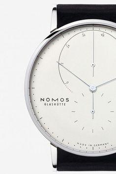 """ Nomos Glashütte, model: Lambda Weißgold source classy-captain """