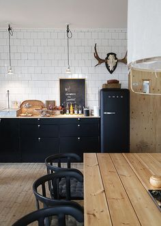 16x inspiratie voor zwarte keukens