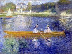 Renoir: The Skiff  Our favourite paintings: the great Auteur Gallery - Film Forum on mubi.com