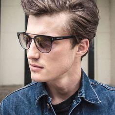 Jack Ellis in Faraway Sunglasses in Black