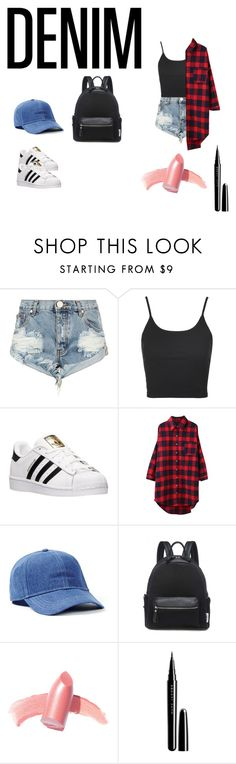 """hell yeah"" by satineputri ❤ liked on Polyvore featuring One Teaspoon, Topshop, adidas, Topman, Elizabeth Arden and Marc Jacobs"