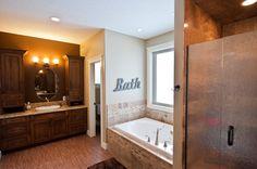Dream Bathroom #Architecture Corner Bathtub, Bathrooms, Architecture, Home, Arquitetura, Bathroom, Full Bath, Ad Home, Homes