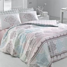bFeatures/bulli65% Cotton 35% Polyester/lili3 Piece Superking Quilt…