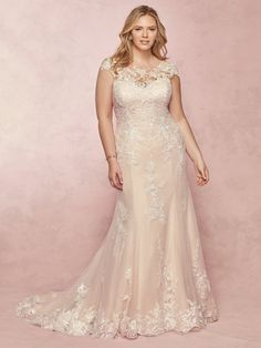 875ae048224  Maggie Sottero style 9RW086AC Liesl Lynette. Sample is antique ivory