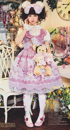 Japanese Lolita Fashion ~ (love this for playing with another 'me'...(kc)