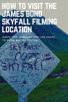 How to Visit the James Bond Filming Location in Scotland including GPS location. See where the iconic skyfall house was placed and discover the natural beauty of glen etive skyfall. See the skyfall house james bond location. Discover the scotland landscape scottish highlands