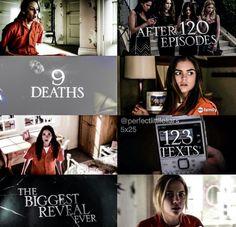 alison dilaurentis, aria montgomery, biga, charles, emily fields, ezria, haleb, hanna marin, mona vanderwaal, pll, spencer hastings, spoby, welcome to the dollhouse, season5, emison, bigareveal, charles dilaurentis, 5x25, 123 texts, 120 episodes