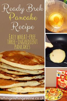 Ready Brek Pancake recipe - a super easy, wheat free, three-ingredient alternative to flour pancakes. May be suitable for coeliacs and gluten intolerant people depending on their tolerance of oats. Contains no gluten from wheat or barley. Slimming World Oat Pancakes, Slimming World Desserts, Slimming World Breakfast, Slimming World Recipes Syn Free, Slimming World Baked Oats, Sin Gluten, Syn Free Pancakes, Three Ingredient Pancakes, Oats Recipes