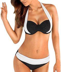 Bikini  Bekleidung, Damen, Bademode, Bikinis, Bikini-Sets Push Up Bikini, Sexy Bikini, Bikini Sets, Plus Size Bikini Set, Bikini Models, Bikini Top, Best Swimsuits, Two Piece Swimsuits, Women Swimsuits