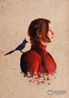 The Mockingjay :3 one of my favourites by Brandon Hung