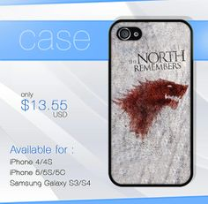 game of thrones north remember iphone case by SIMPELMonogram, $14.99