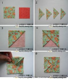 Check out the webpage to read more about Origami Designs Origami Quilt, Fabric Origami, Origami Art, Origami Boxes, Origami Bookmark, Origami Design, Origami Instructions, Origami Tutorial, Quilting Projects
