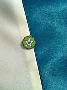 Girls' Auxiliary members received pins as part of their membership.