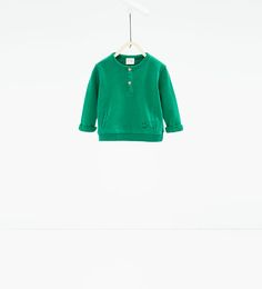 Image 1 of Little smiley sweatshirt from Zara