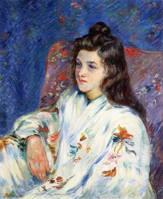 ☂ Paper Lanterns and Parasols ☂ Japonisme Art and Illustration - Armand Guillaumin | Mademoiselle Guillaumin
