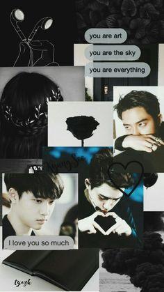 DO kyungsoo (EXO)  vrs.BLACK