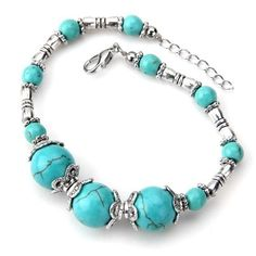 Here's a great jewelry deal! Amazon has this great Tibet Silver Turquoise Beads Lobster Clasp Bracelet for only $2.76 shipped! This wold make a wonderful gift idea or stocking stuffer since Christmas is coming! Beautiful and splendid bracelet Good for going party or banquet It is also a great time to get the Amazon Prime Free Trial and get free shipping on ANY order for the next month! Amazon pricing changes quickly so these deals could expire at any time!  {Read More}