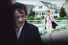 A Winter's Pale, Peter Lindbergh | Karen Elson, John Hawkes, American Vogue 2011 | Grace Coddington, Didier Malige, Stéphane Marais | Catalina Beach