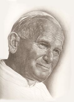 "Pope John Paul ll "" Do not be afraid."""