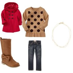 Love this for my mini me!! She's gonna look beyond adorable in her boots & pea coats this fall☺