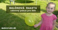 Balónová raketa - zábavný pokus pre deti Sports, Hs Sports, Sport