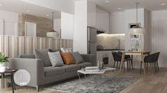 Apartment 60m2 on Behance