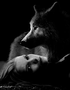 He protects his Angel.. The Wolf in him comes out... ❤Master's Angel...