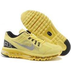 Nike Air Max 2013 Women Light Yellow