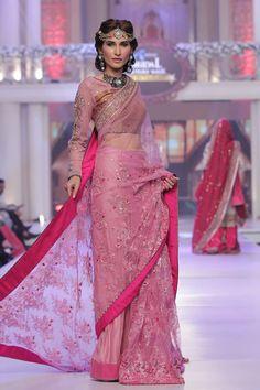 2015 Telenor Bridal Couture Week Ayesha Ibrahim Wedding Colleciton Pictures