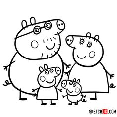Read moreFamily Peppa Pig Birthday Coloring Pages Peppa Pig is a English preschool animated Peppa Pig Coloring Pages, Family Coloring Pages, Birthday Coloring Pages, Cartoon Coloring Pages, Disney Coloring Pages, Animal Coloring Pages, Coloring Pages To Print, Coloring Pages For Kids, Coloring Books