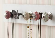 Super Ideas For Jewellery Storage Ideas Organizing Knobs