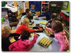 Que faire avec des marrons en maternelle ? Activité sur les rythmes