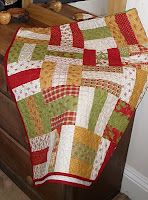 Great for some of my Christmas fabrics!  Quiltification: Off the Rails!