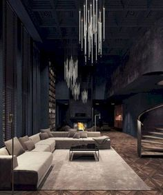Previous Next Top Amazing Modern Gothic Interior Design Ideas and Decor Pictures One of the living rooms in Mika's dormitory. Related postsTop Amazing Modern Gothic Interior Design Ideas and Decor … Modern House Design, Modern Interior Design, Home Design, Interior Architecture, Contemporary Design, Interior Staircase, Design Hotel, Minimalist Interior, Amazing Architecture